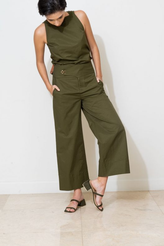Lucca Pants - Olive