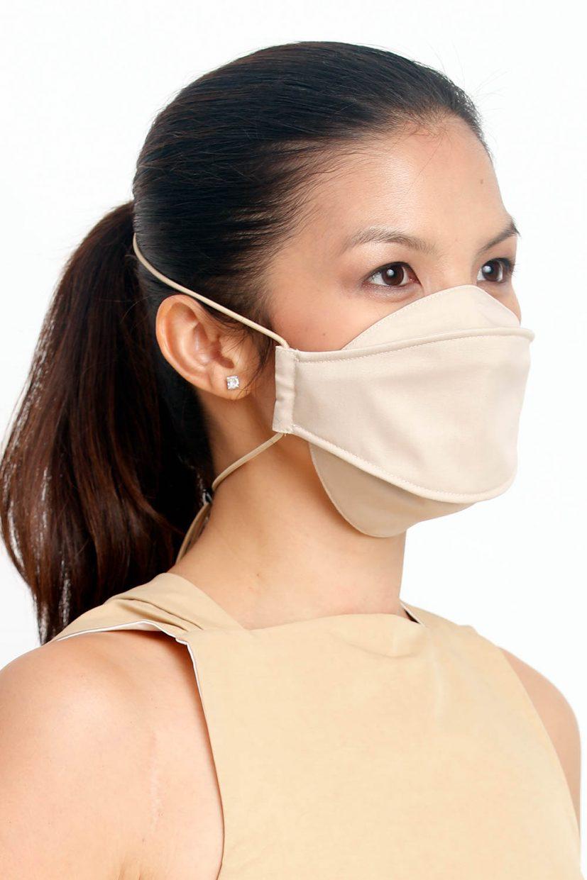 Beige Almond Face Mask v2