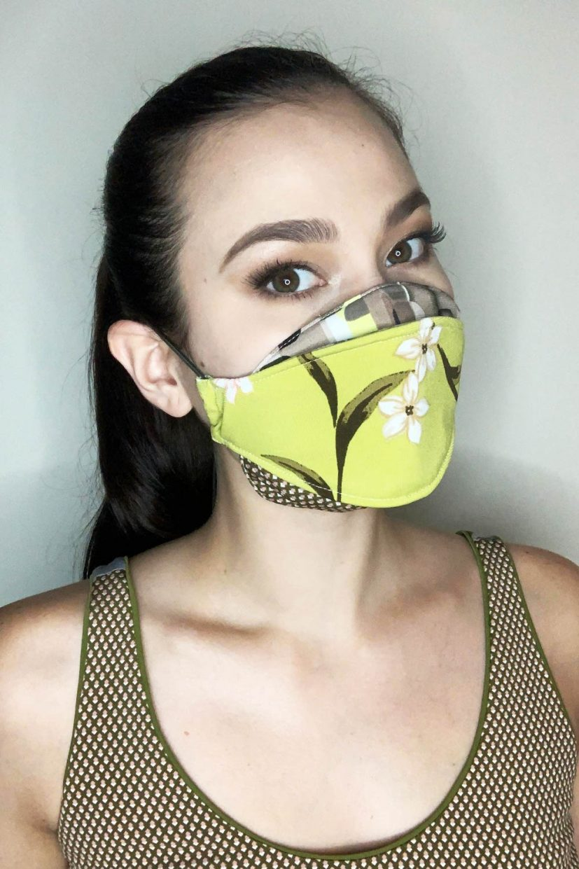 ITY Floral Army Mask
