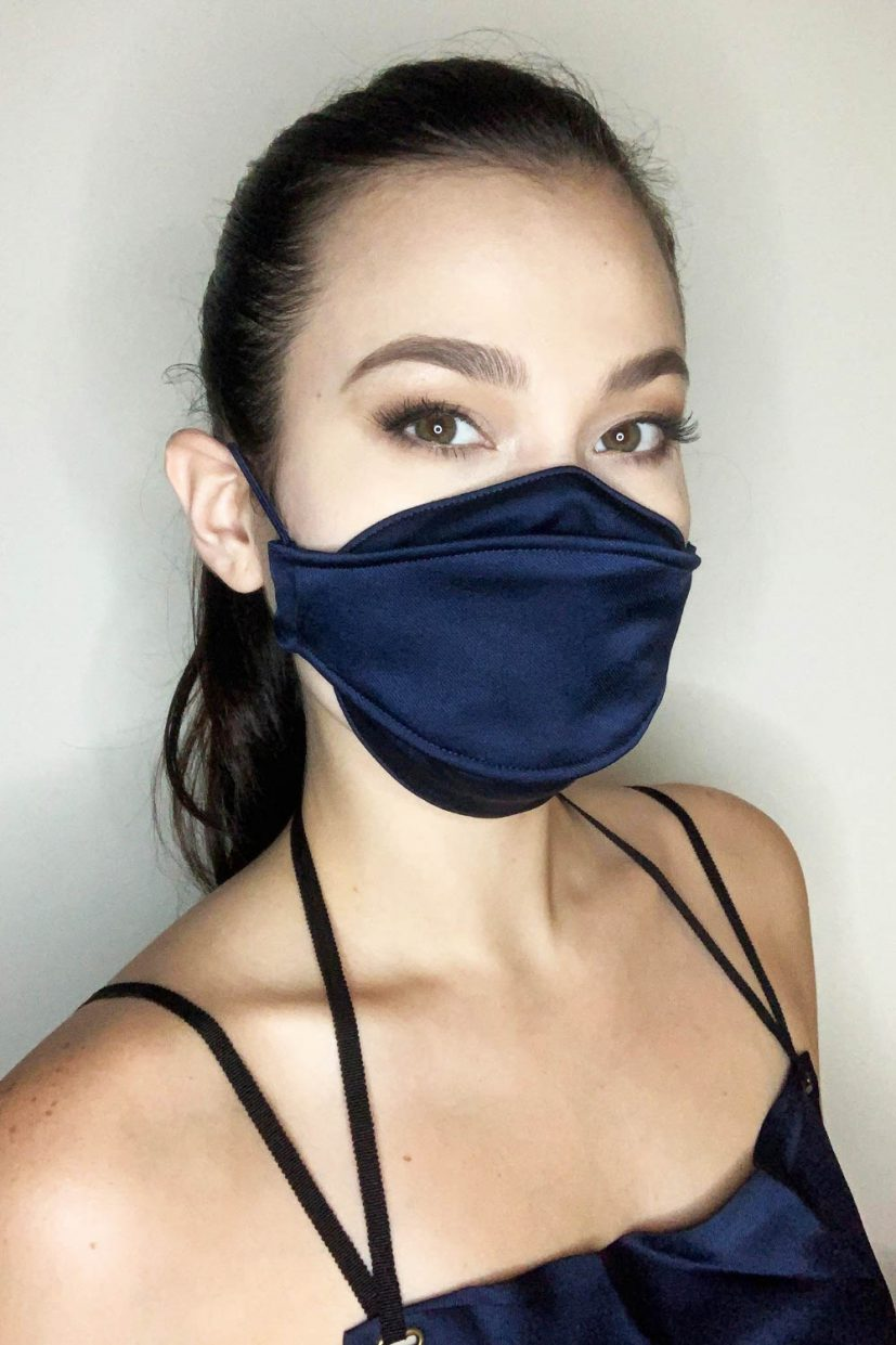 Languid Mask - Navy