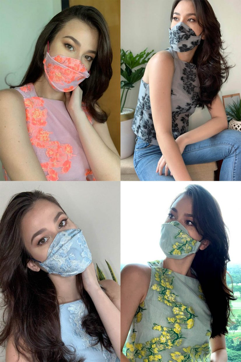 v3 Organza Face Mask