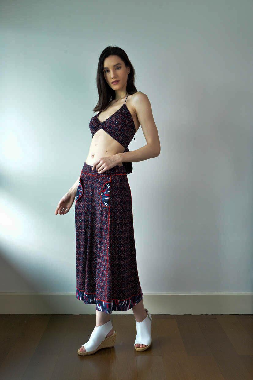 Westlock Full Skirt - Navy