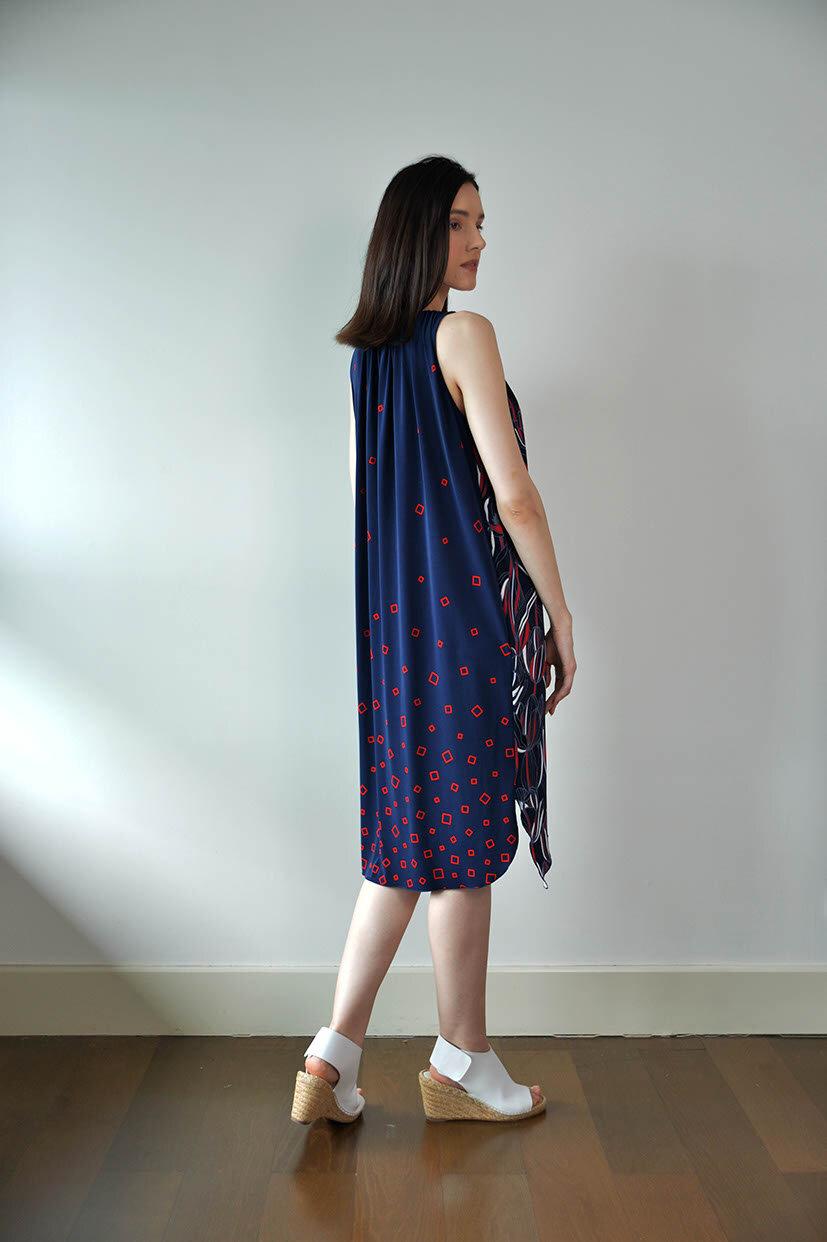 Kentville Dress – Navy