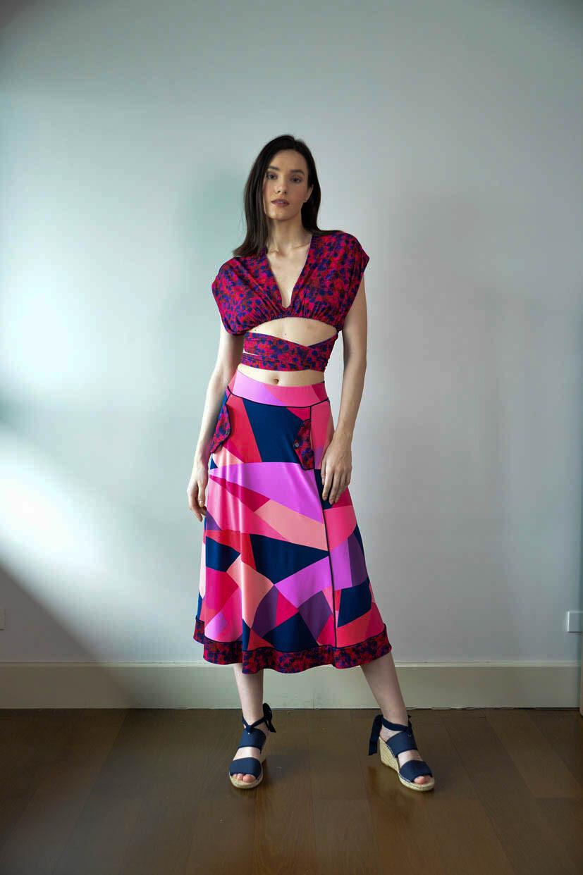 Westlock Full Skirt - Pink