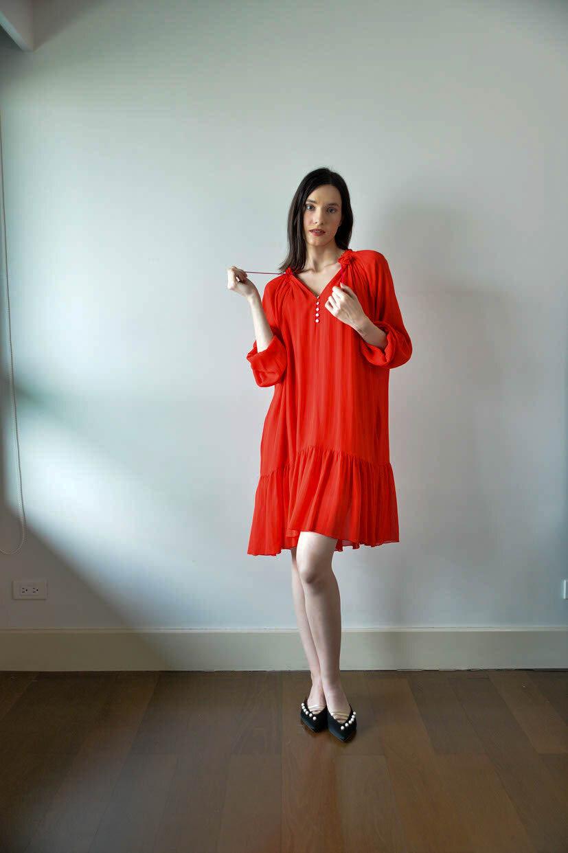 Dorval Tweak Dress v2 - Red