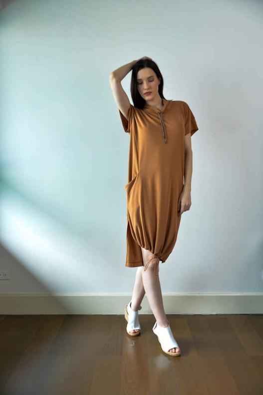 Peston Pique Dress