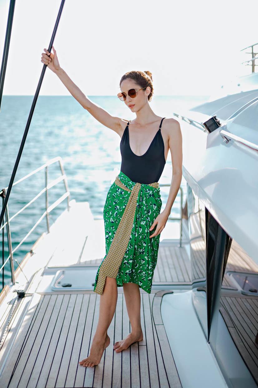 Ellis sarong dress
